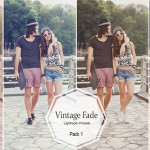Vintage fade lightroom presets